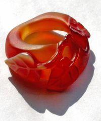 Перстень сердоликовый
