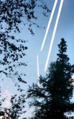 Над тайгой самолеты