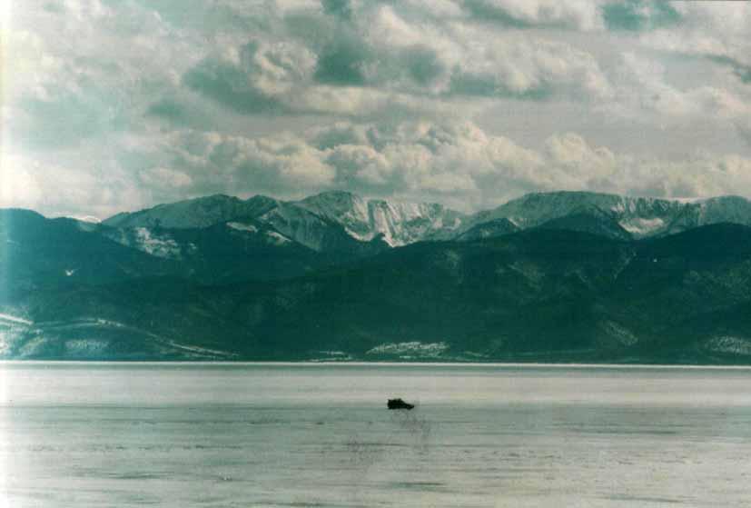 На Байкале начало апреля (Выходные, День Геолога)