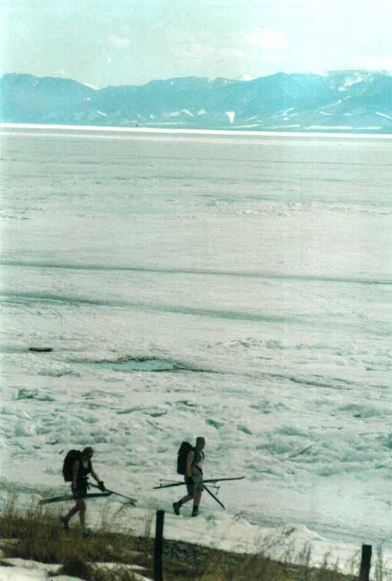 На Байкале в апреле