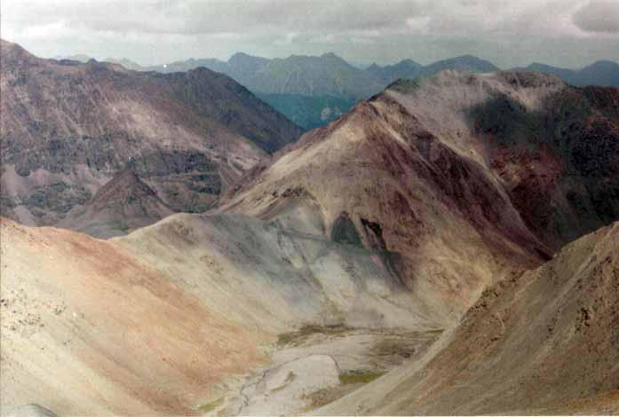 Вид на перевал Оспин-Дабан