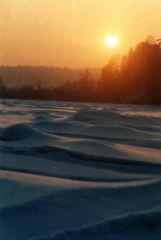 Зимний февральский вечер