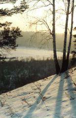 В марте на берегу Иркута...