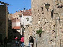 г. Саламанка, обычна улица старого города