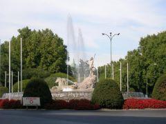 Мадрид, фонтан Нептуна