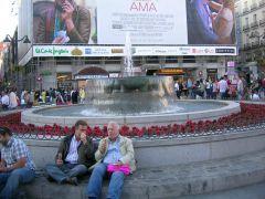Мадрид, площадь SOL