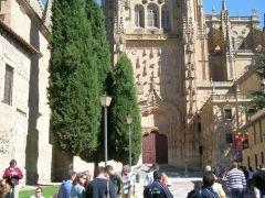 г. Саламанка, фрагмент кафедрального собора