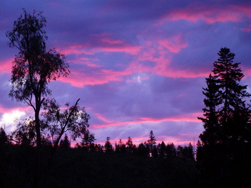 Небо Закатное