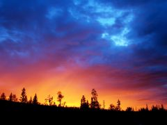 Закат на Муруне