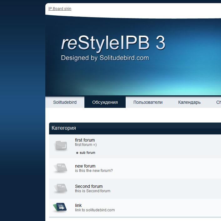 IPB 3.0 reStyleIPB3 by Kodeak